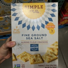 Simple Mills Almond Flour Crackers