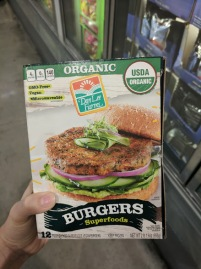 Organic Superfood Burgers