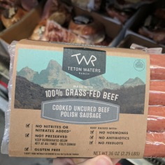 100% Grass-Fed Beef Polish Sausage